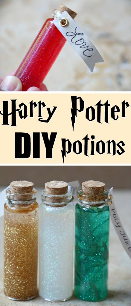 Harry Potter DIY Potions | SensiblySara.com