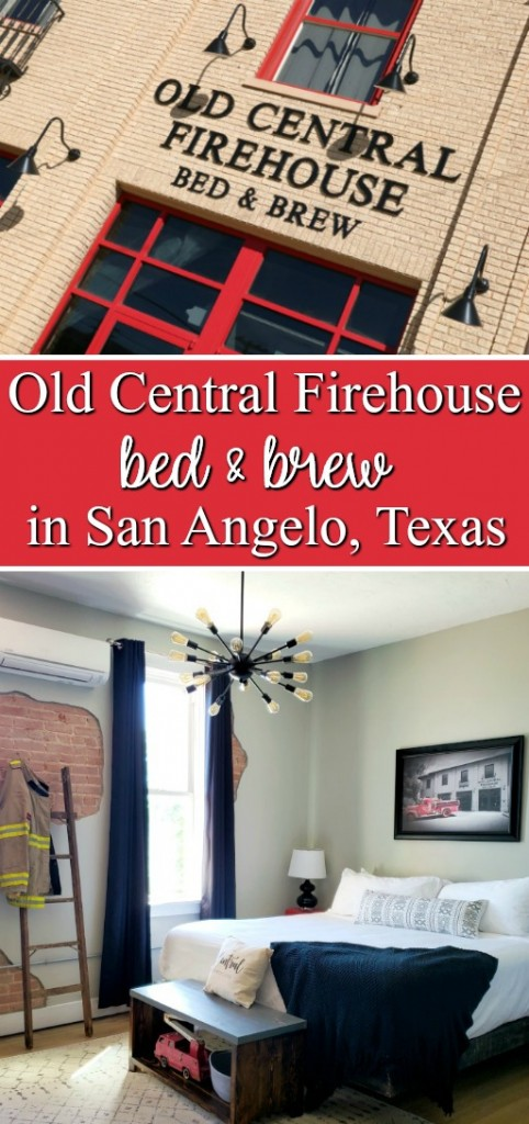Old Central Firehouse Bed and Brew in San Angelo, Texas | SensiblySara.com