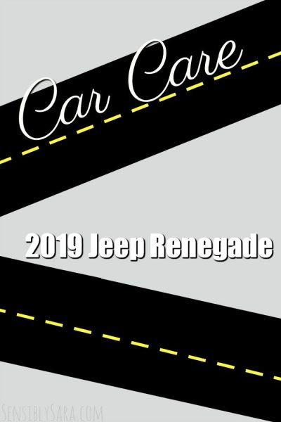 2019 Jeep Renegade | SensiblySara.com