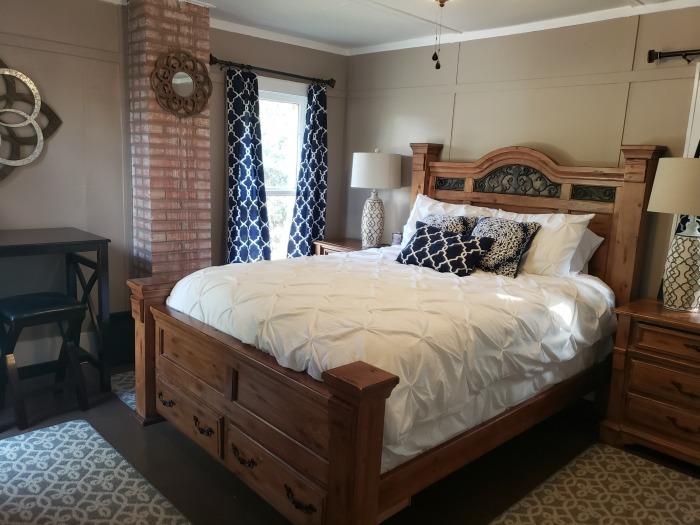 Helotes Cafe and Stay Bedroom   SensiblySara.com