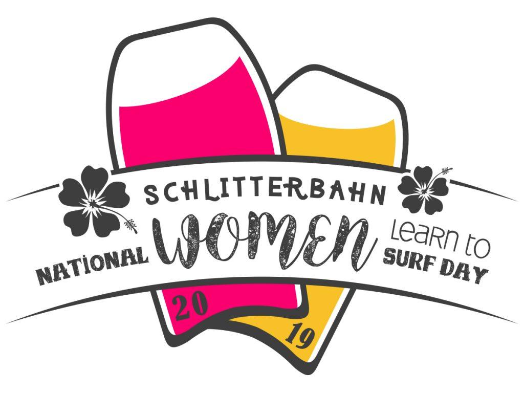 National Women Learn to Surf at Schlitterbahn Logo