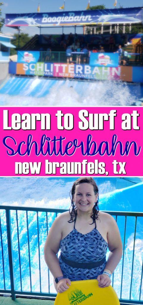 Learn to Surf at Schlitterbahn New Braunfels   SensiblySara.com