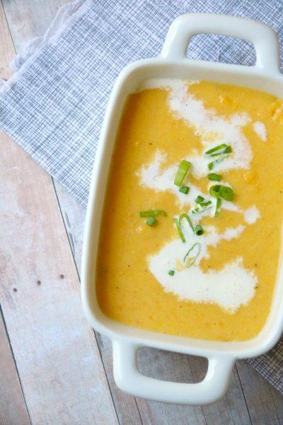 Cold Corn Soup | SensiblySara.com