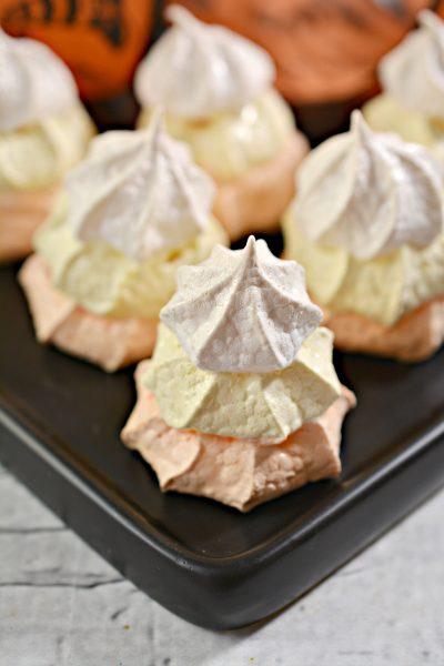 Candy Corn Meringue Recipe | SensiblySara.com