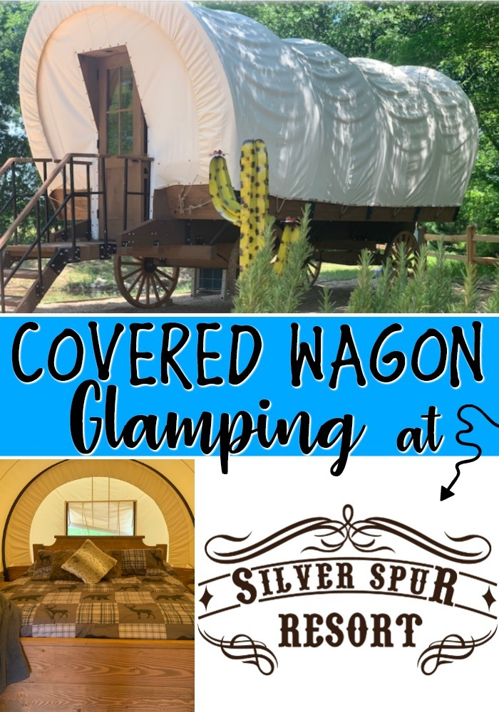 Covered Wagon Glamping at Silver Spur Resort